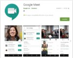 google meet app is not free video calling onine study live class